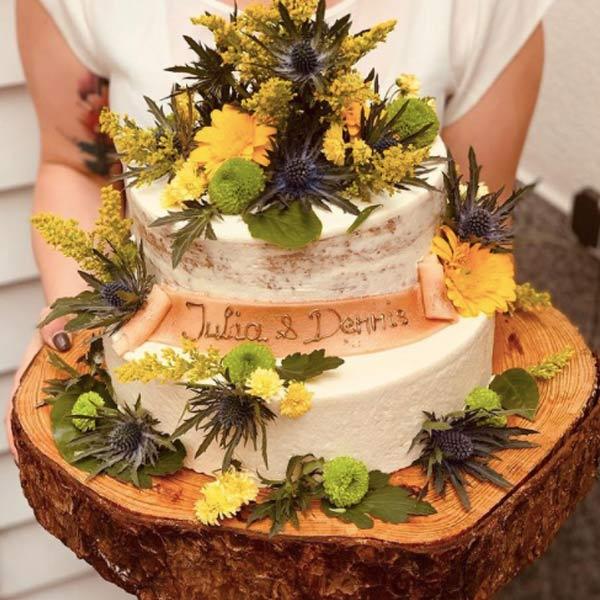Konditorei Hochzeitstorte